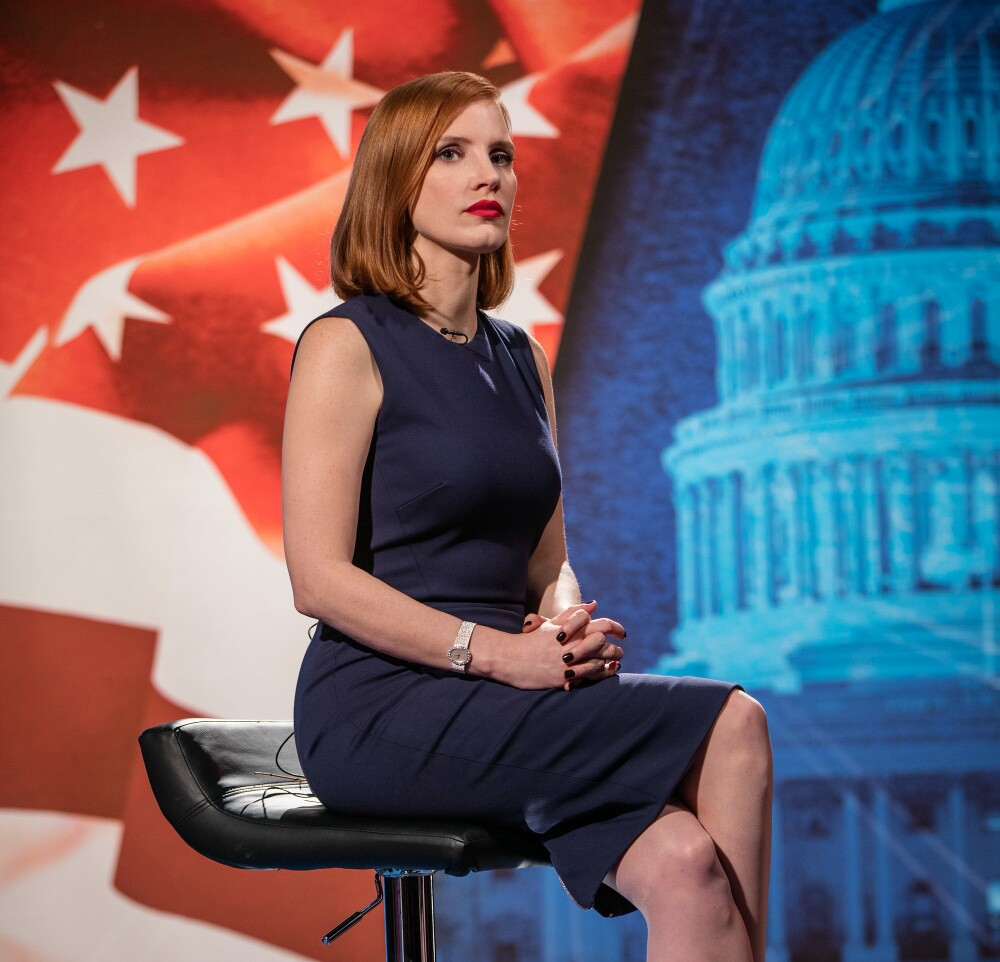 """Jessica Chastain in """"Miss Sloane"""""""