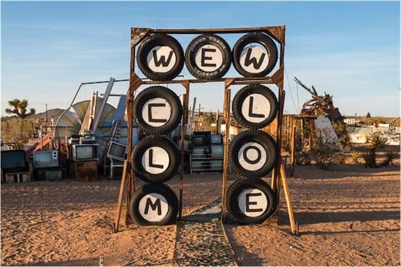 Noah Purifoy's Outdoor Desert Art Museum, Joshua Tree, CA. | Photo: Kim Stringfellow.