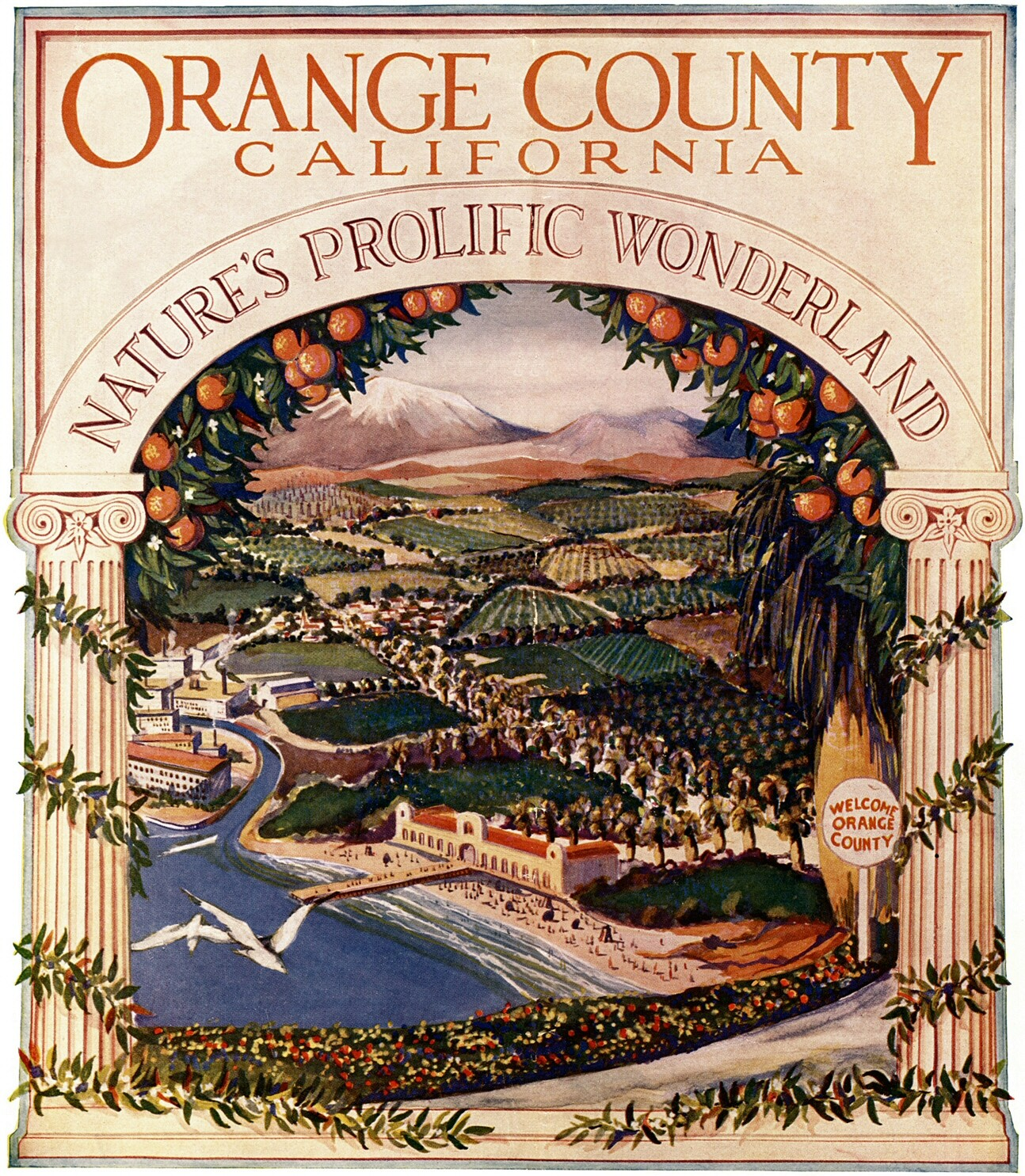 Orange County, California: Nature's Prolific Wonderland (1926)