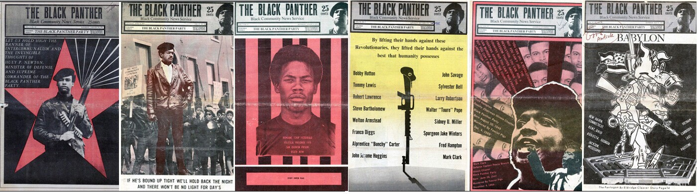 The Black Panther magazine posters