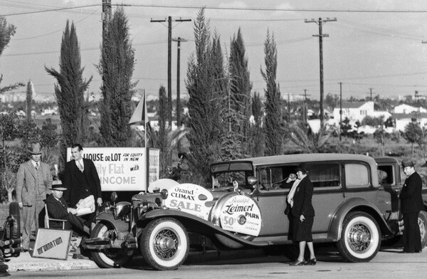 Leimert Park sales campaign, 1931 | Dick Whittington Studio, Courtesy of the USC Digital Library