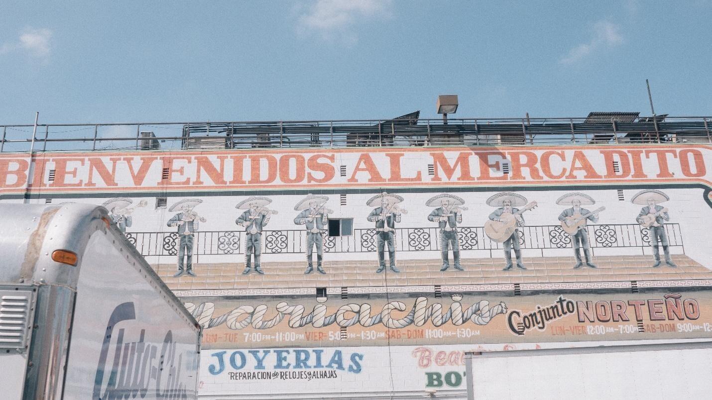 El Mercadito: outside