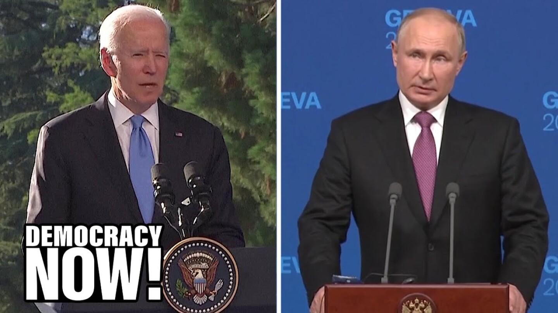 U.S. President Biden and Russian President Vladimir Putin.