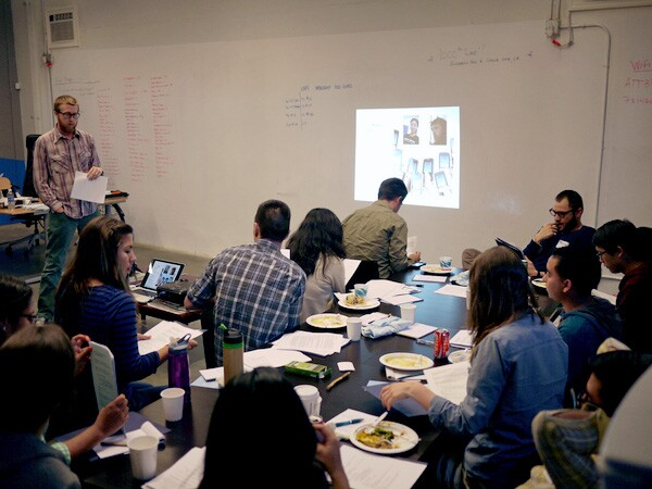 Justin Cram from NELA RC partner KCET Departures presented a workshop on local media and social media strategies for summer intern experience