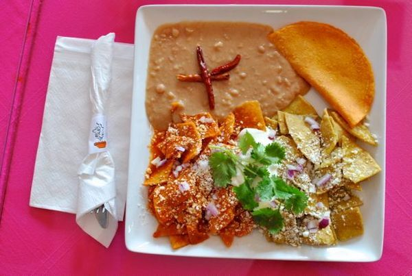 Chilaquiles at Las Casita Mexicana | Javier Cabral