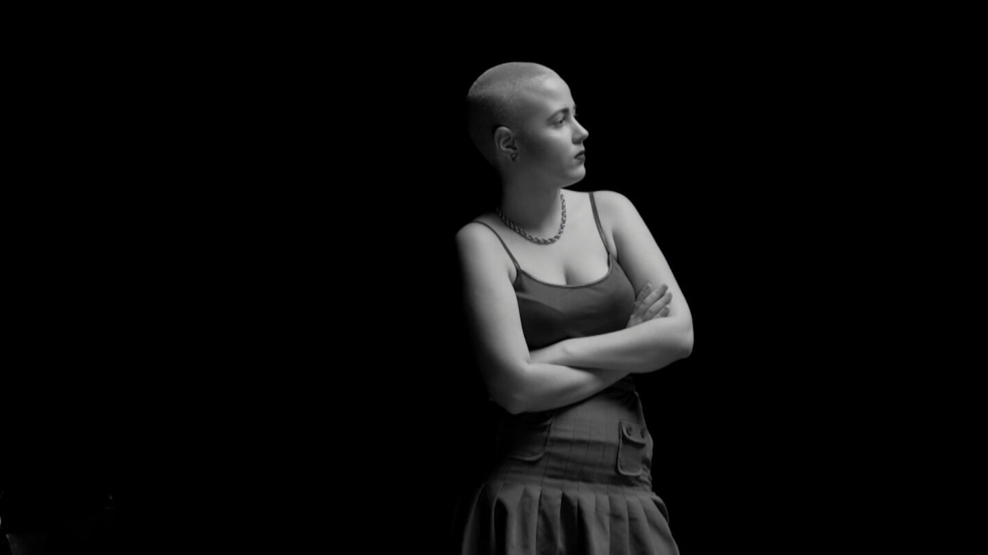 "Rebeca Dos Santos, leukemia patient in Venezuela. | Still from ""It's All Good"""