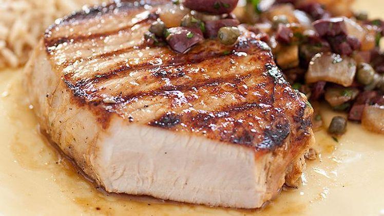 Boneless Grilled Pork Chops