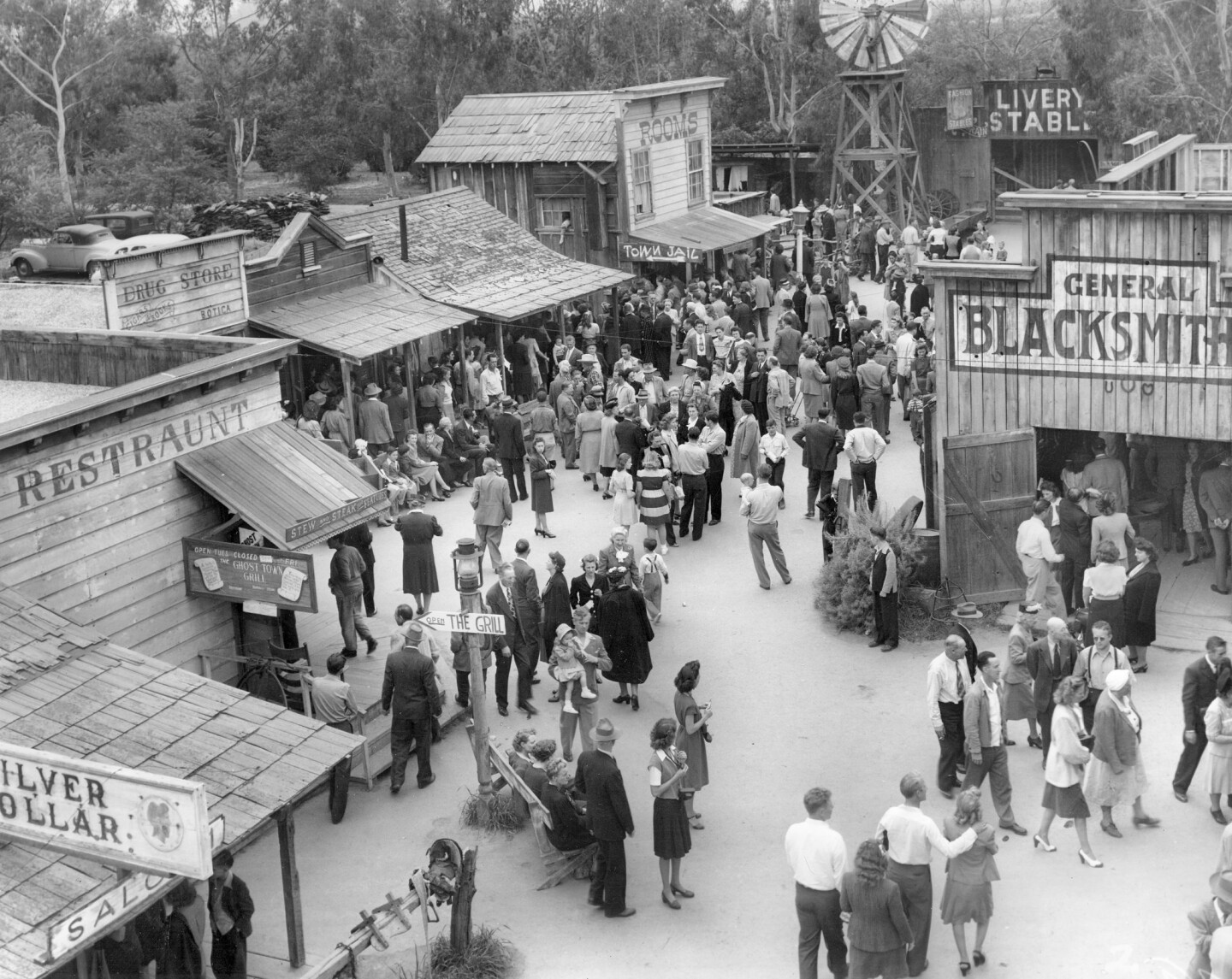 Ghost Town, Knott's Berry Farm, 1940s