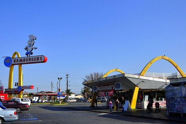 Oldest operating McDonalds in Downey | dave_hensley/flickr/Creative Commons