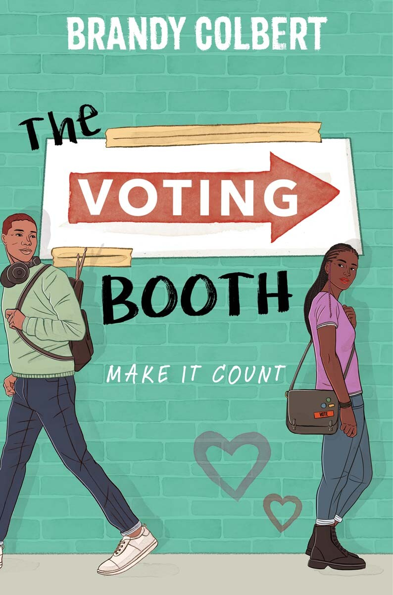 """""""The Voting Booth"""" by Brandy Colbert book cover. 