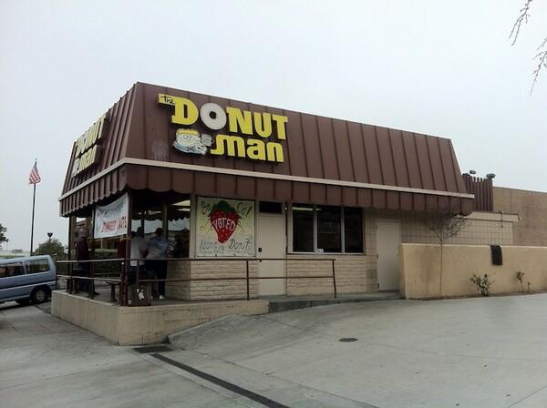 The Donut Man in Glendora