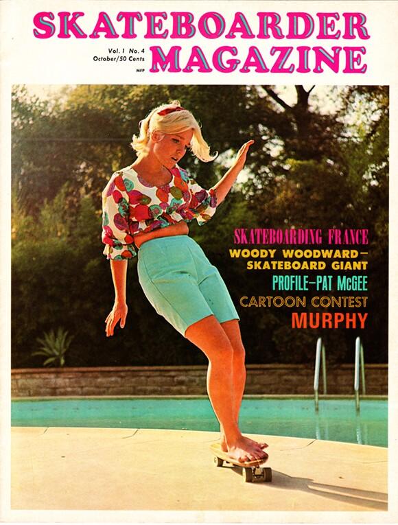 Skateboarder Magazine, Volume 1, Issue 4.