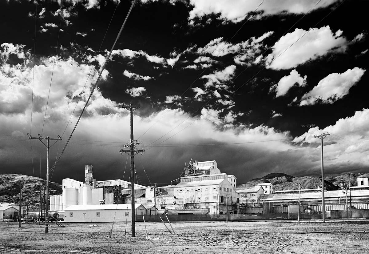 Searles Valley Minerals Plant - Infrared Exposure - Trona, CA - 2010  | Osceola Refetoff