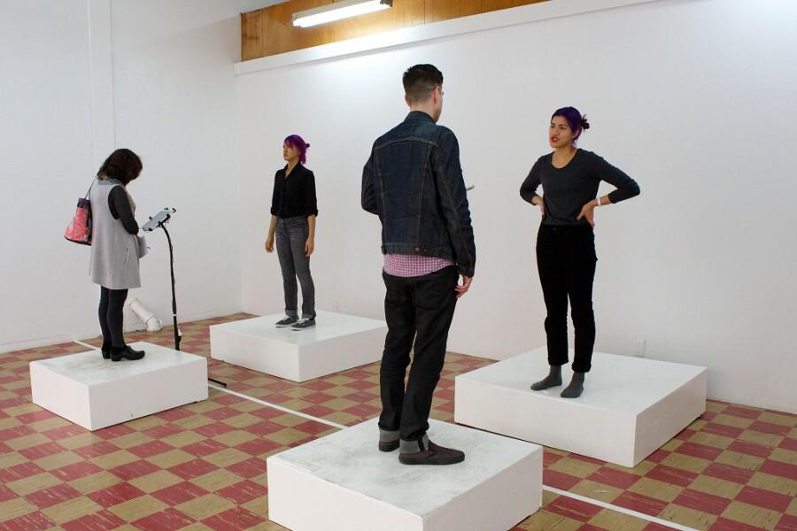 "Emma Sulkowicz, ""Self-Portrait"" at Coagula"