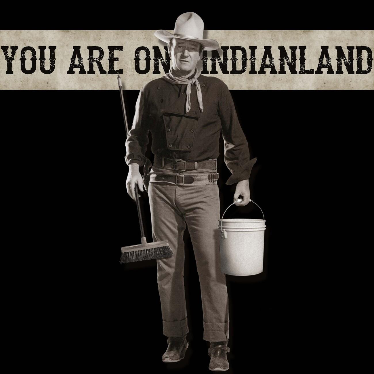 """Votan Henriquez, """"You're on Indianland."""""""