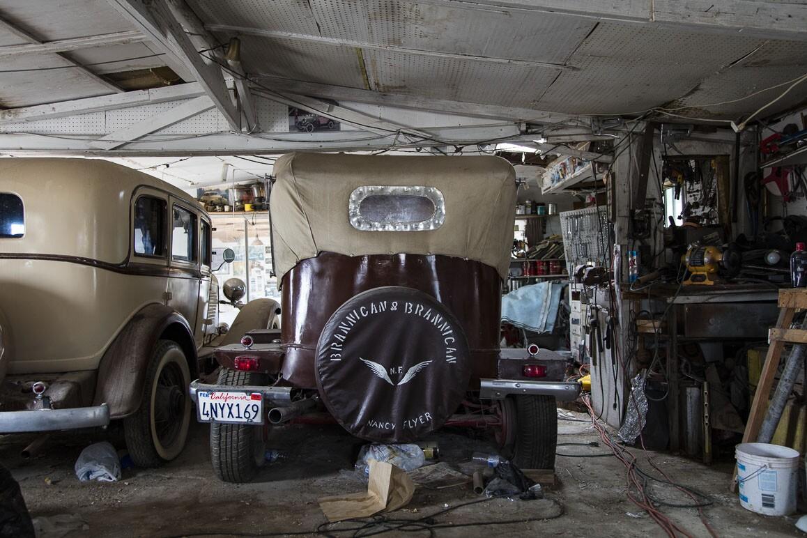 The Brannigan's customized vintage automobiles