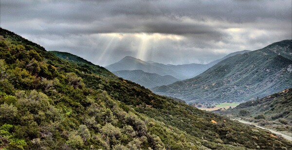 Rose Valley in Los Padres National Forest