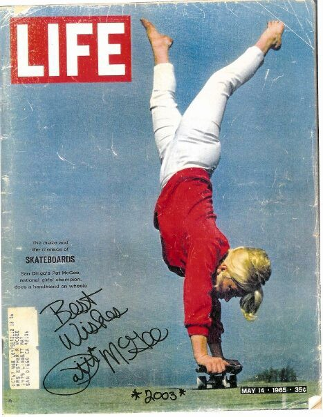 Pattie McGee on the cover of Life Magazine, 1965