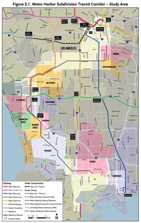 Harbor Subdivision Transit Corridor   Metro