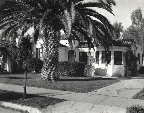 Pierce's family home in Glendale