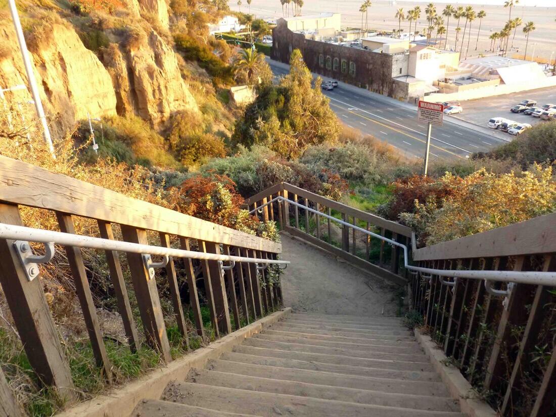 Santa Monica Stairs (1)