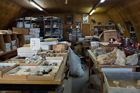 Shop view of Desert Discoveries in Boron, CA. | Photo © Kim Stringfellow.