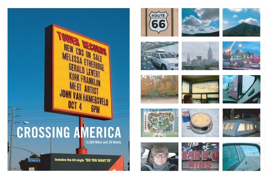 """John Van Hamersveld """"Crossing America Tour"""""""