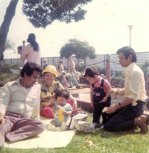 Boholanos of Southern California, Inc. annual picnic, Veterans Park, Redondo Beach, June 1973, courtesy of Elson Trinidad