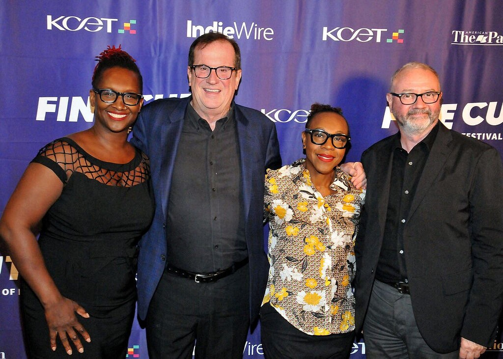Film/TV producer Effie T. Brown, Deadline.com Chief Film Critic Pete Hammond, actress Marianne Jean-Baptiste and Exec. Director International Documentary Association Simon Kilmurry arrive at FINE CUT Festival of Films at the Directors Guild of America