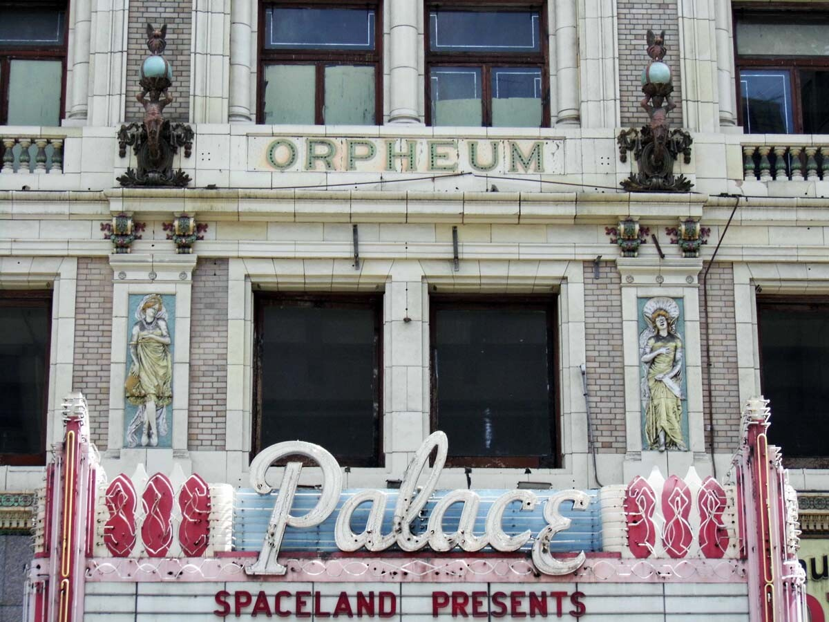 The Palace Theatre exterior detail. | Sandi Hemmerlein