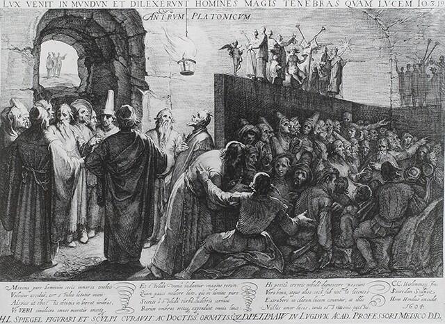 Plato's Allegory of the Cave | Jan Saenredam (1604)