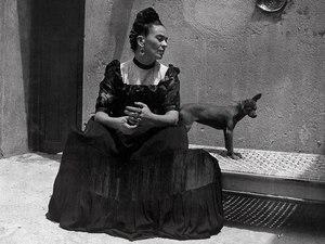 Photo: Frida Kahlo by Lola Álvarez Bravo, ca. 1944 © Frida Kahlo Museum