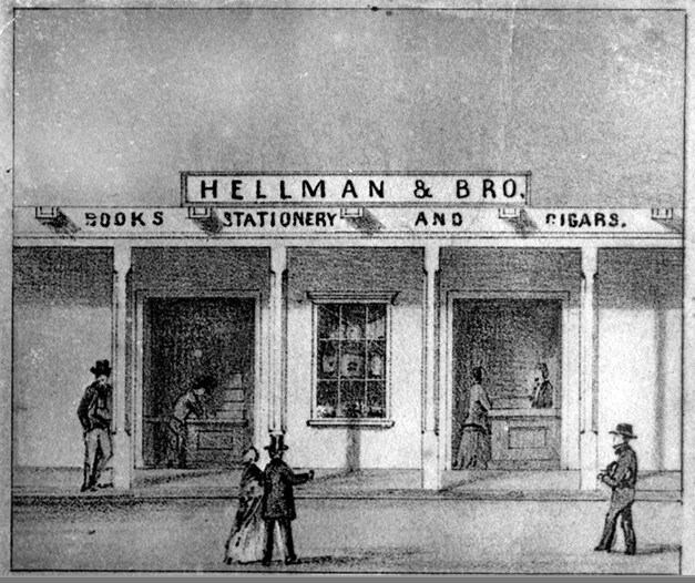 Hellman & Bro., 1857.