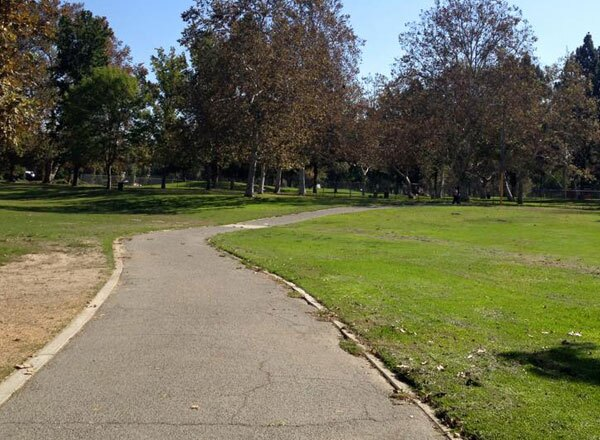 Legg Lake's Jogging Path at the Whittier Narriows Area and Park