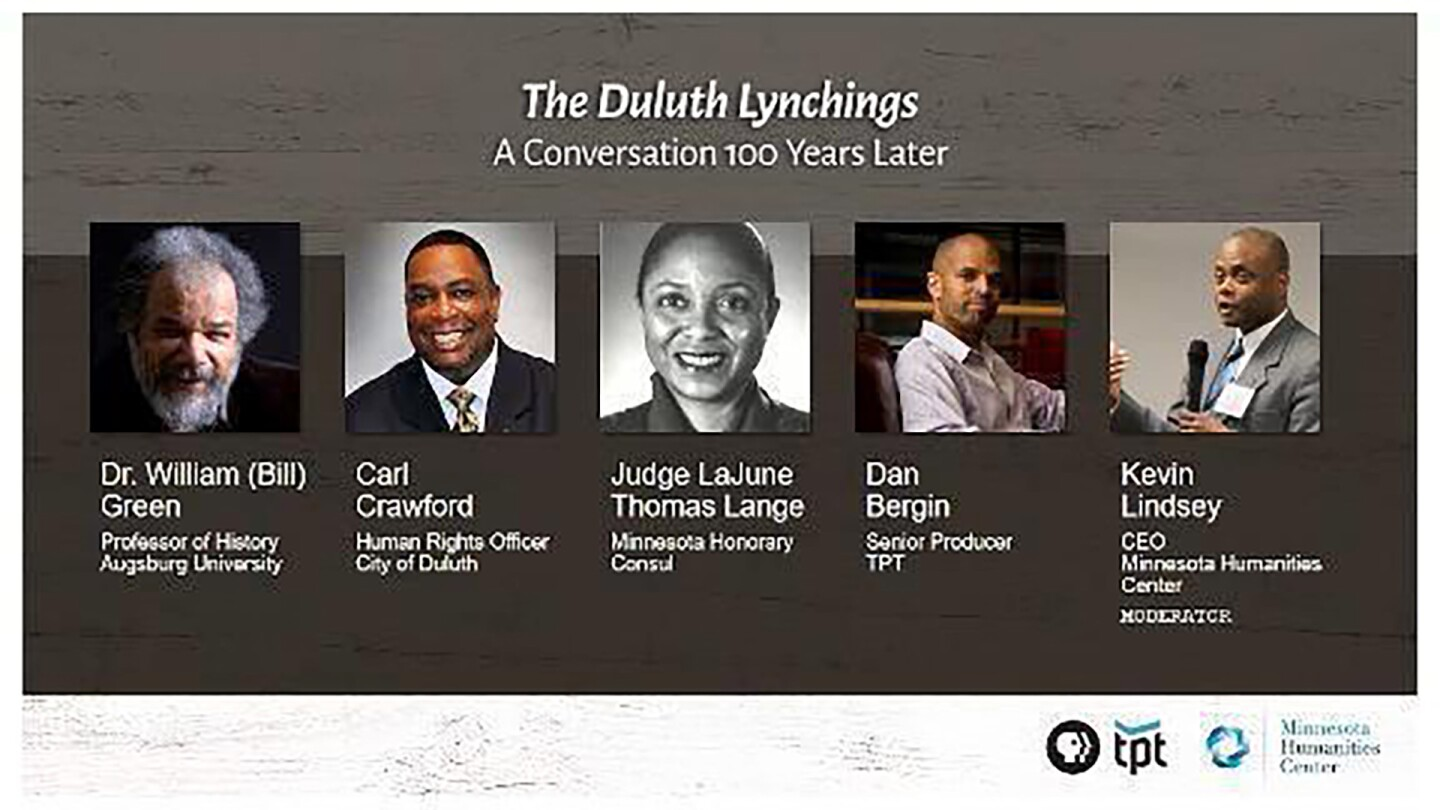 "Thumbnail image for ""The Duluth Lynchings: A Conversation 100 Years Later."""