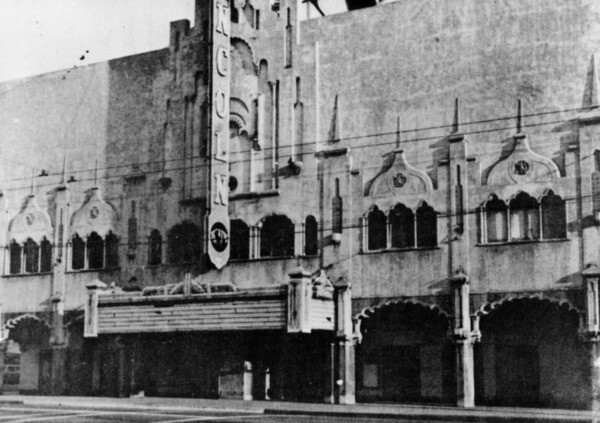 Lincoln Theater on Central Avenue, once known as the Apollo of the West, makes an appearance in Himes' novels | Photo: Security Pacific National Bank Collection, Los Angeles Public Library