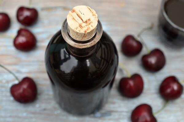 Cherry-Balsamic Shrub