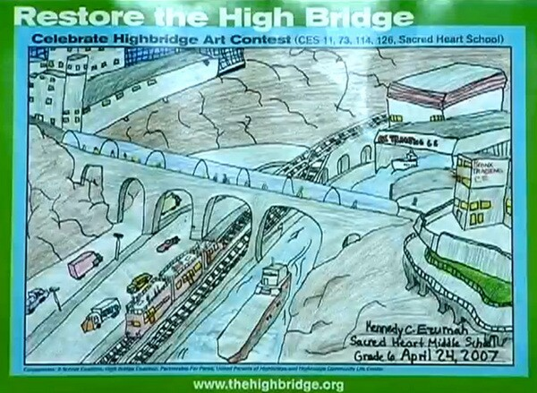 Image from the High Bridge video
