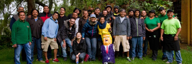 "The crew involved in filming ""La Madre Buena."" | Courtesy of Omar Danuk"