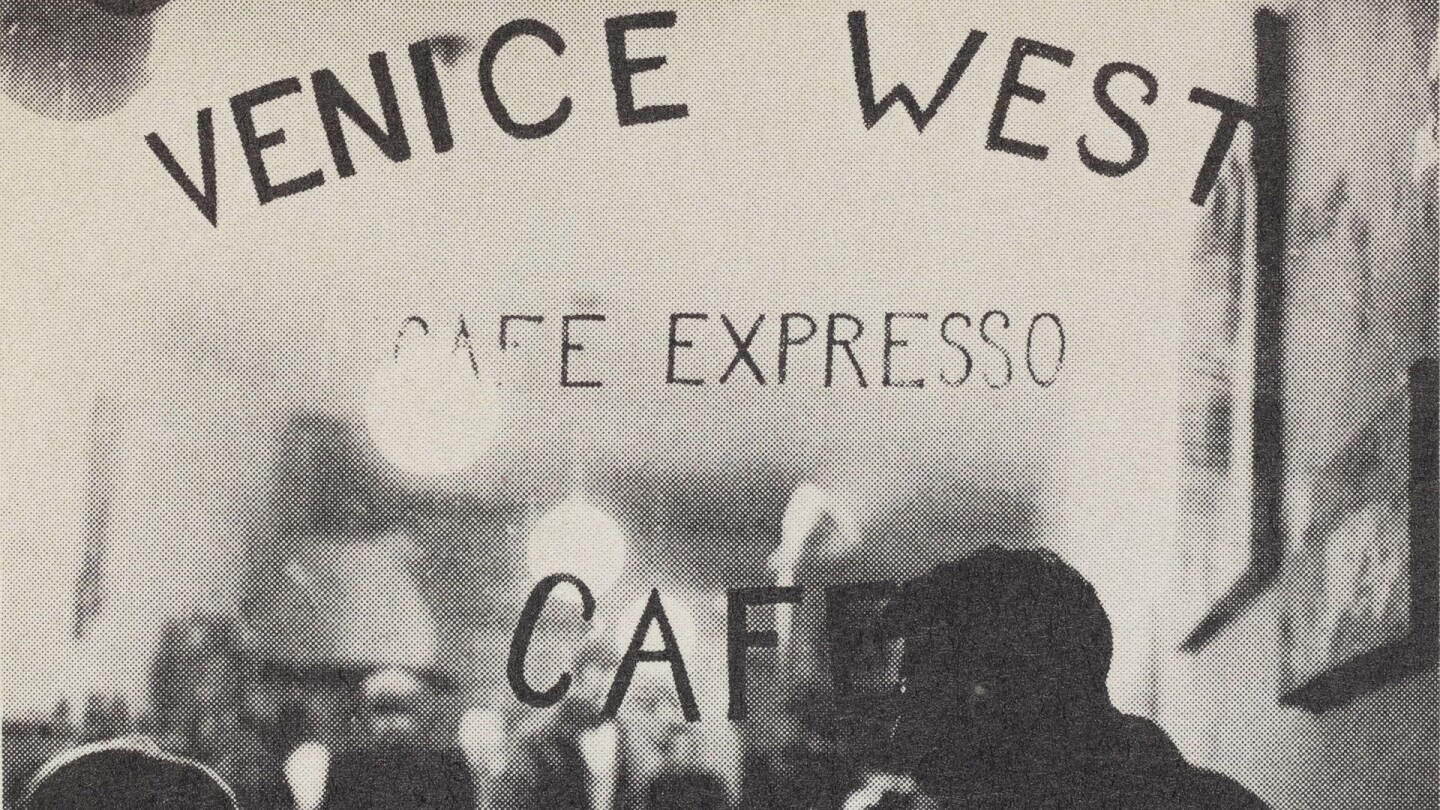 Exterior of Venice West, a beat generation coffee house | Austin Anton from the Lawrence Lipton papers, USC Libraries