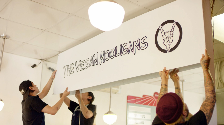 Vegan Hooligans - Banner