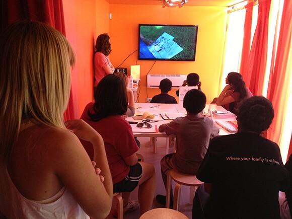 LACMA9 Mini Docs workshop | Photo: Fernando Cervantes