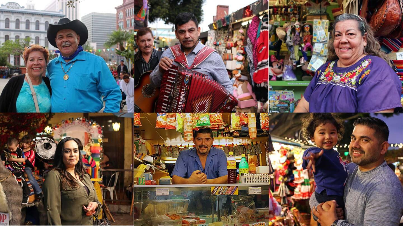 People on Olvera Street | Samanta Helou Hernandez Olvera AB s9