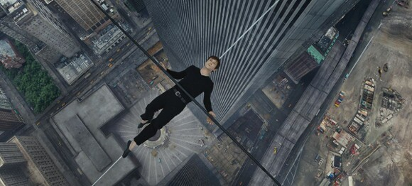 "Joseph Gordon-Levitt as Philippe Petit in ""The Walk."" 