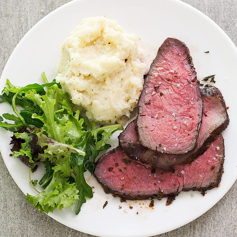 Fennel-Coriander Top Sirloin Roast