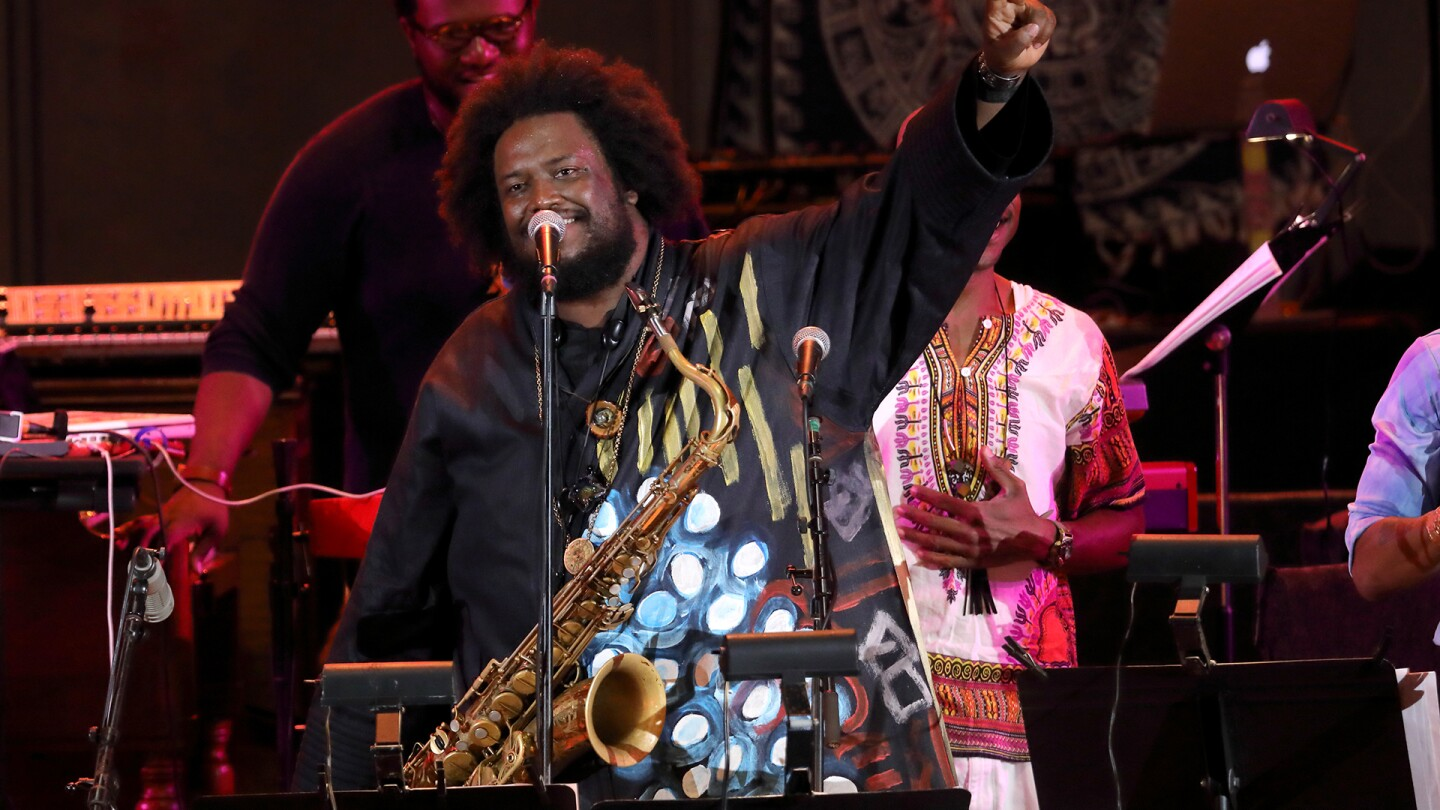 "Kamasi Washington at the Hollywood Bowl | Craig T. Mathew/Mathew Imaging, Courtesy of the Los Angeles Philharmonic ""In Concert at the Hollywood Bowl"" ep 3 preview thumbnail"