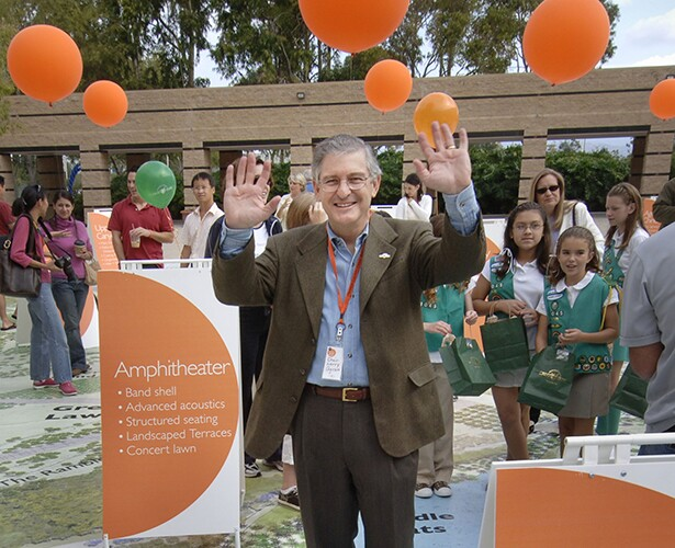 Larry Agran, Celebrating New Additions to Great Park, 2006 | Legacy Project photographers