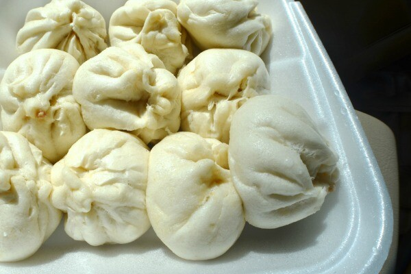 Pork buns from Tasty Noodle House | Photo by Clarissa Wei