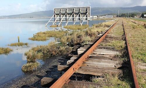 railroad humboldt bay