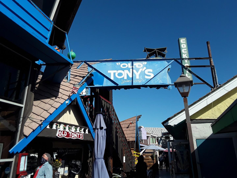 One of Redondo Beach's landmark eateries Old Tony's.